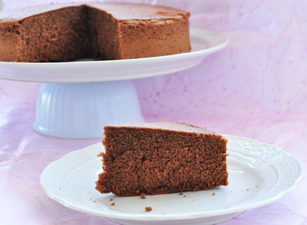 Gluten- und lactosefreier Schokoladenkuchen