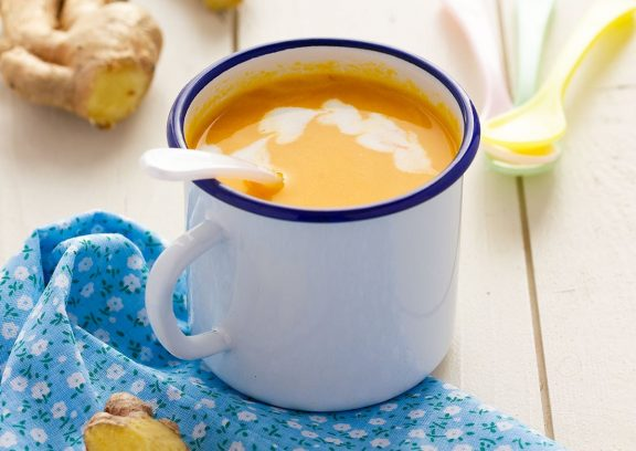 Karottensuppe mit Ingwer und Kurkuma